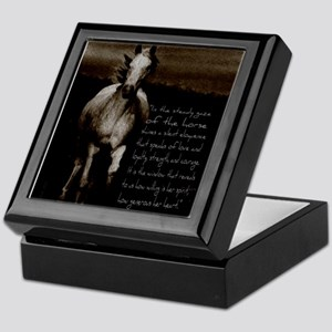 The Horse Keepsake Box